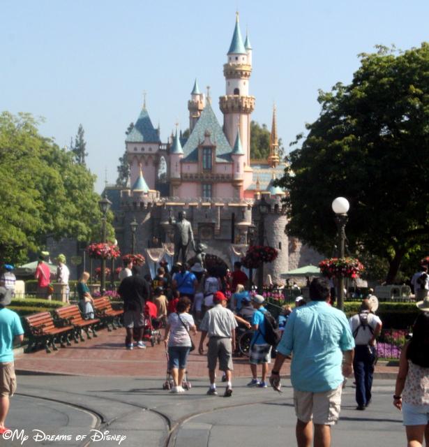 Sleeping Beauty Castle beckons you to Fantasyland!