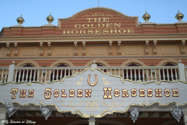 The Golden Horseshoe is a great looking building!