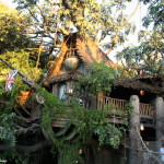 Tarzan's Treehouse, located in Adventureland