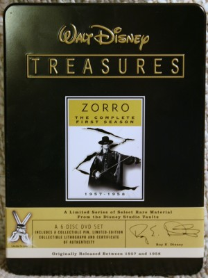 Media Zorro Complete First Season 1 +