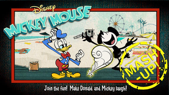 Mickey Mouse Mash Up app