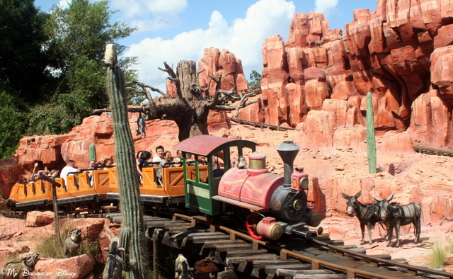 Big Thunder Mountain Railroad is a great roller coaster ride!