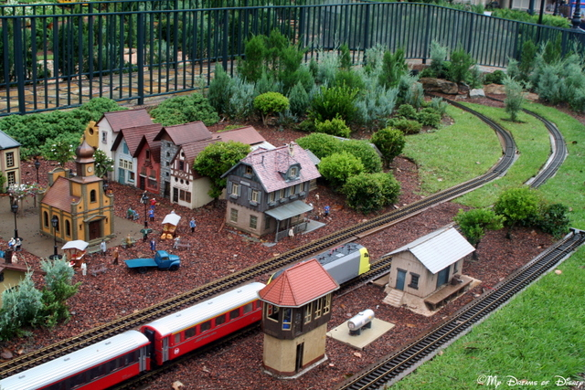 Germany and it's train layout feature some great green features!