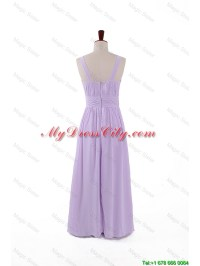 Most Popular 2016 Straps Lavender Long Prom Dresses with ...