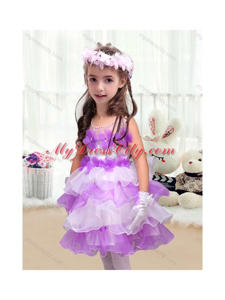 2016 Perfect Short Little Girls Pageant Dresses with