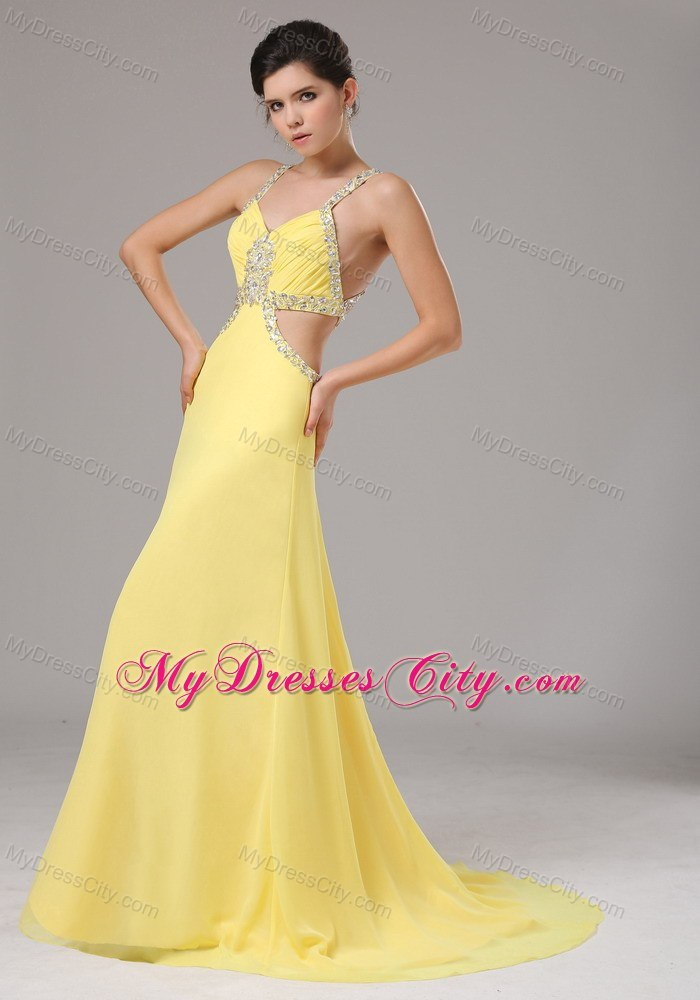 Yellow Prom Dresses 2017