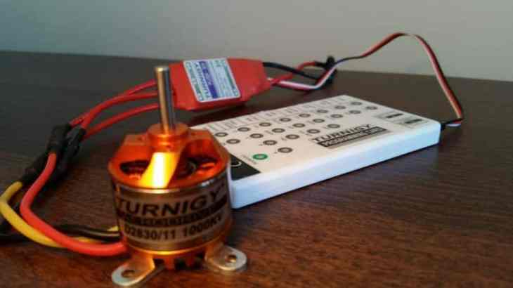 ESCs or electronic speed controls