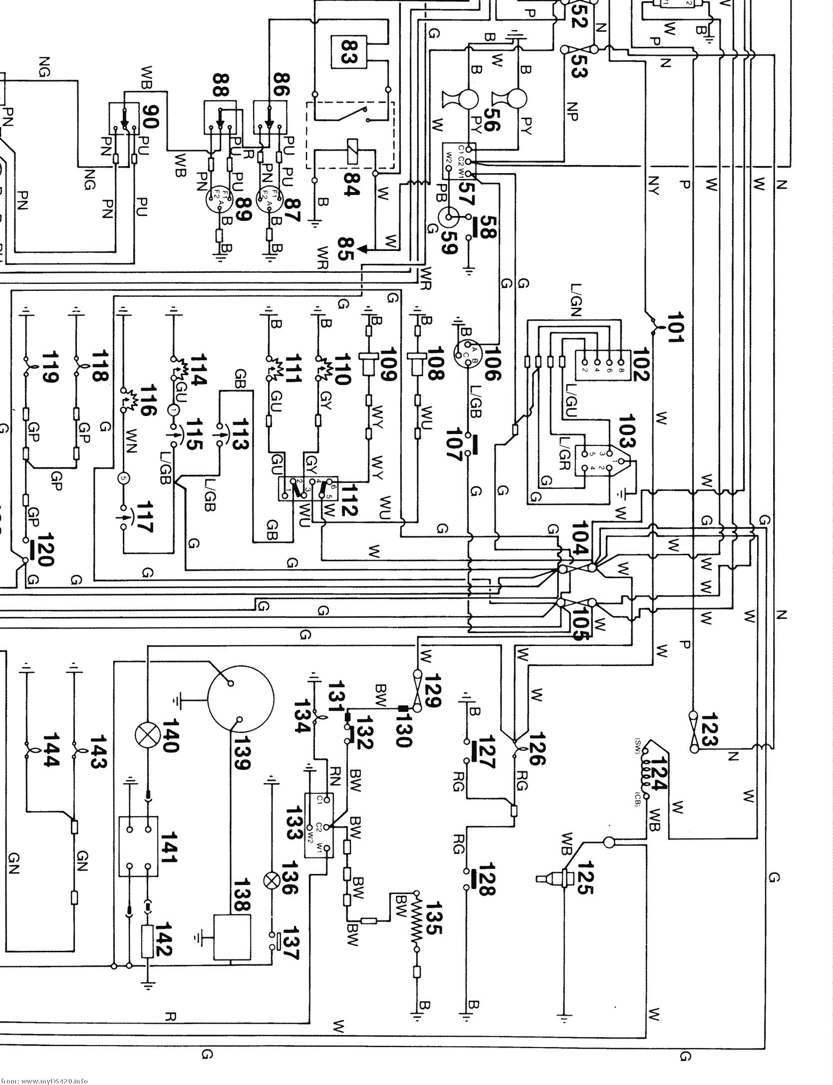 Honda Mr 250 Wiring Diagram. Honda. Auto Wiring Diagram
