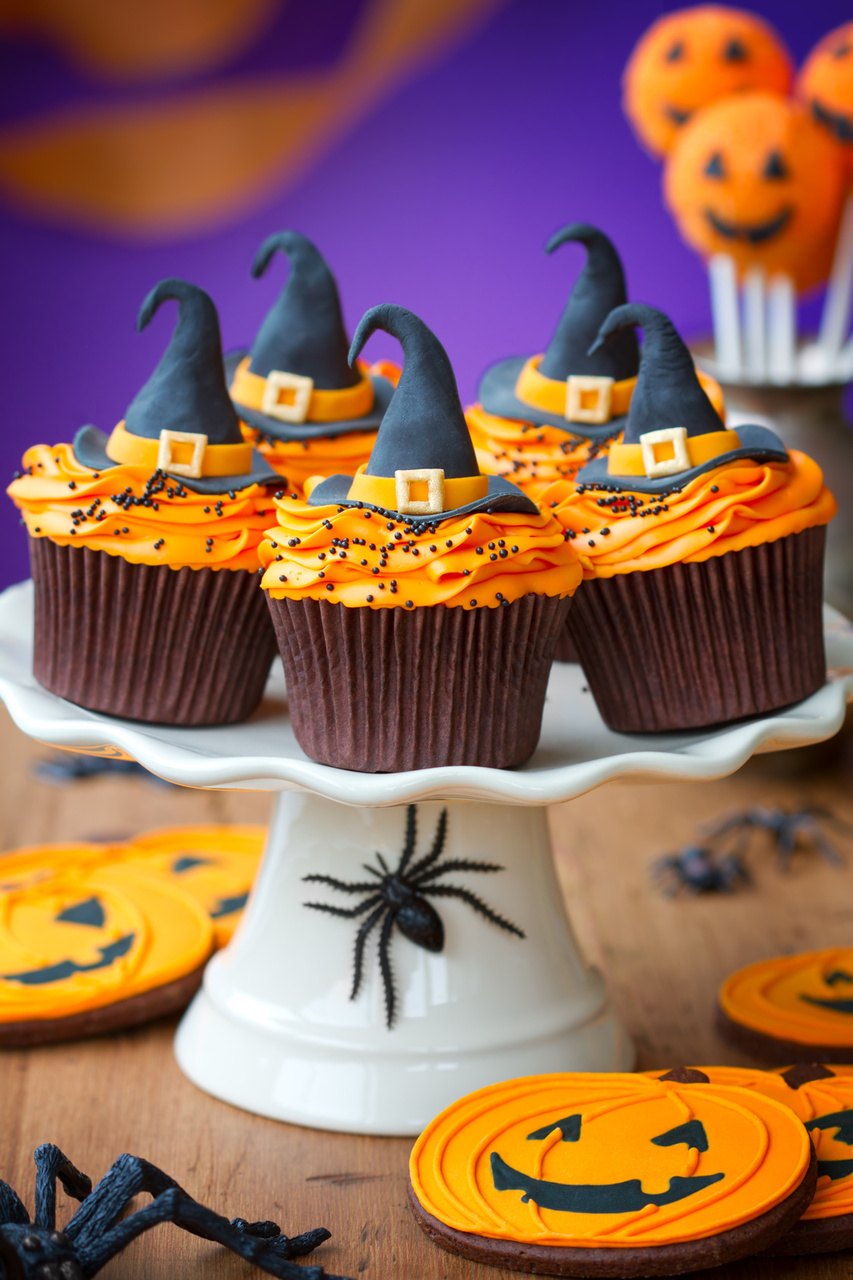 Halloween cupcakes  My Easy Recipes