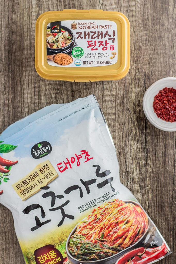 Vegan Korean Miso Soup