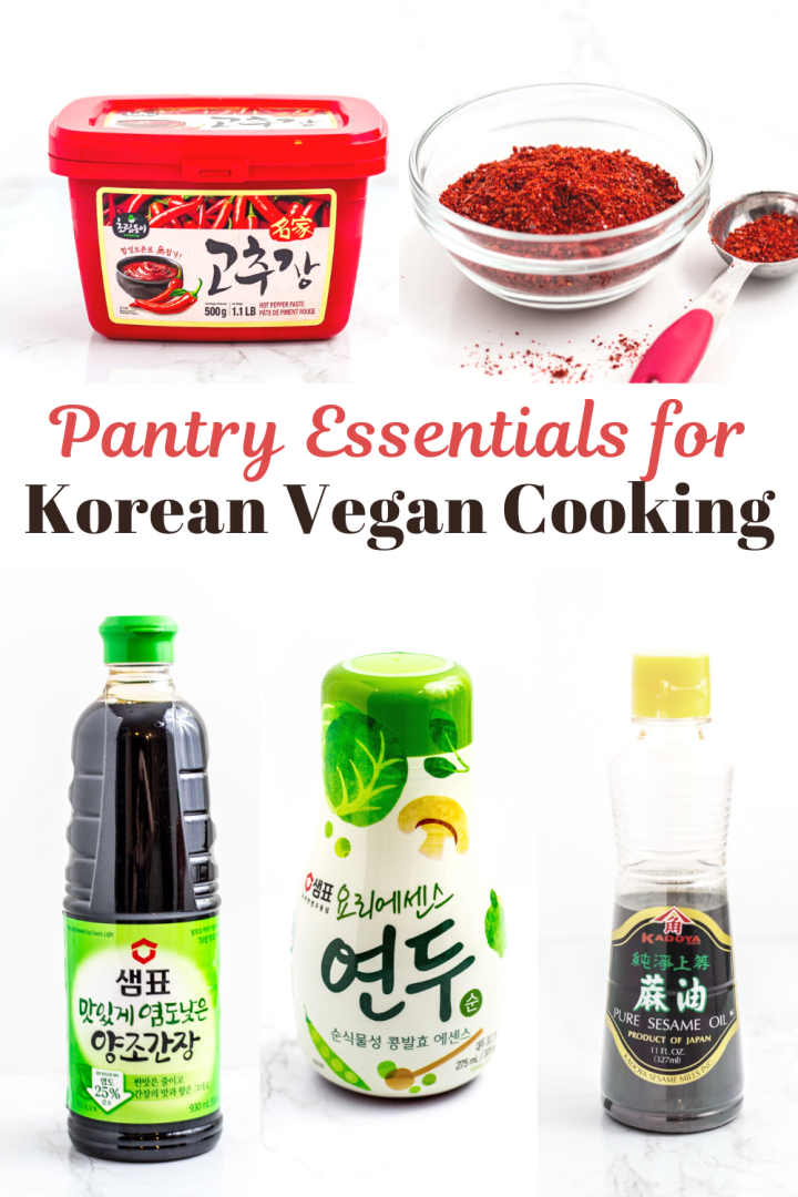 5 Pantry essentials for Korean vegan cooking