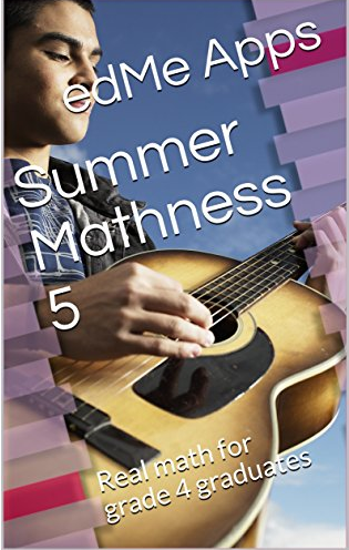 The cover of Summer Mathness 5