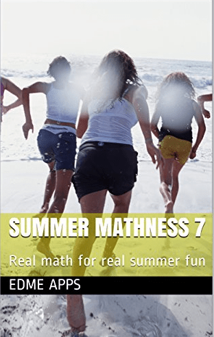 The cover of Summer Mathness 7