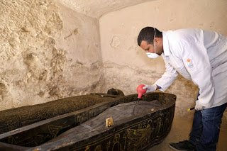 Breaking News: 3000-year Tomb Contains Intact Coffins discovered in Luxor 6