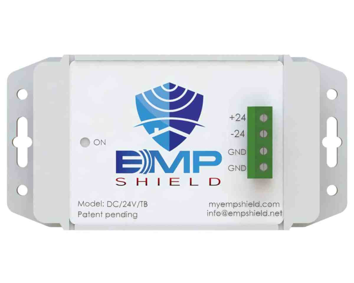 EMP Shield DC 24 Volt Model Terminal Box Version 2