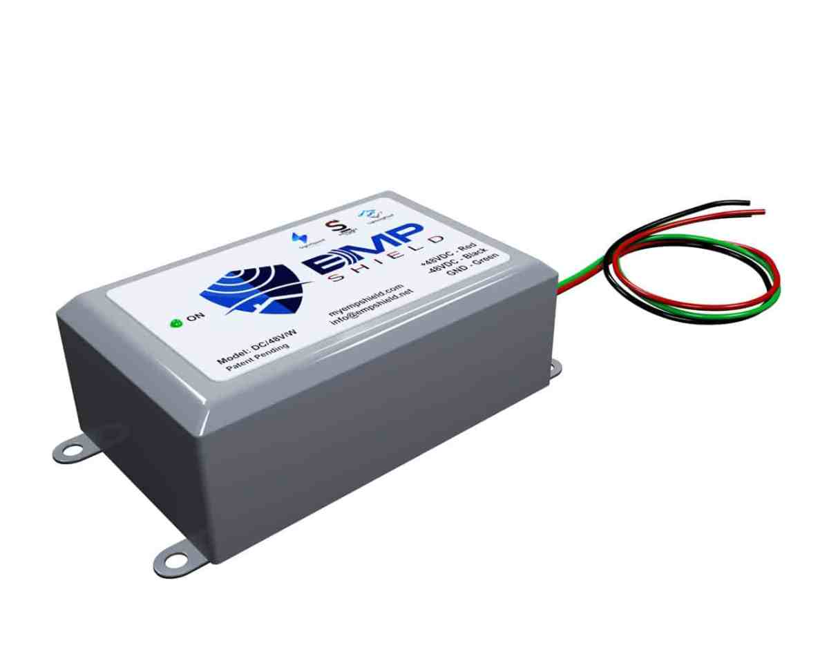 DC 48 Volt Wired EMP Shield Solar, vehicle and Wind