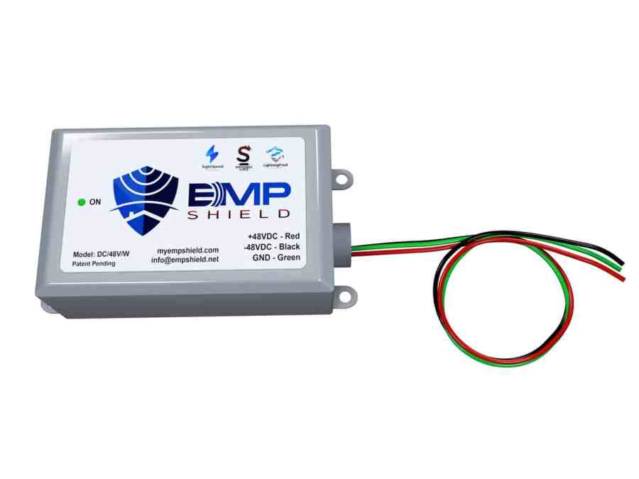 DC 48 Volt Wired EMP Shield Solar and Wind