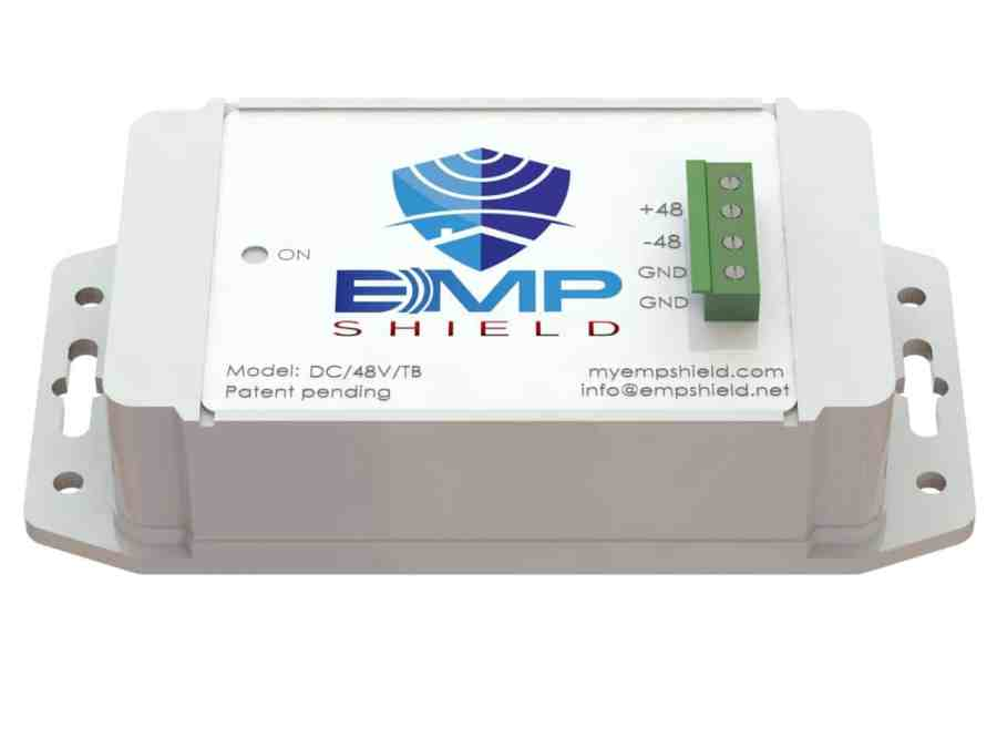 EMP Shield DC 48 Volt Model Terminal Box Version 1
