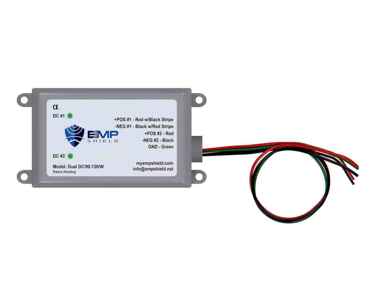 DC 90-120 Wired EMP Shield Solar and Wind