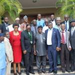 Ex-President Olusegun Obasanjo Hosts the Nigerian Engineers in Abeokuta