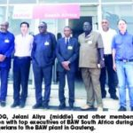 NADDC tours BAW South Africa ahead of Pilot bus roll-out in Nigeria