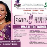 Grooming the next Generation of female engineers: APWEN set to launch Mayen Adetiba Bootcamp for Girls