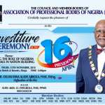 All Set for ex NSE President Chief Olumuyiwa Ajibola's Investiture as the APBN President in Abuja