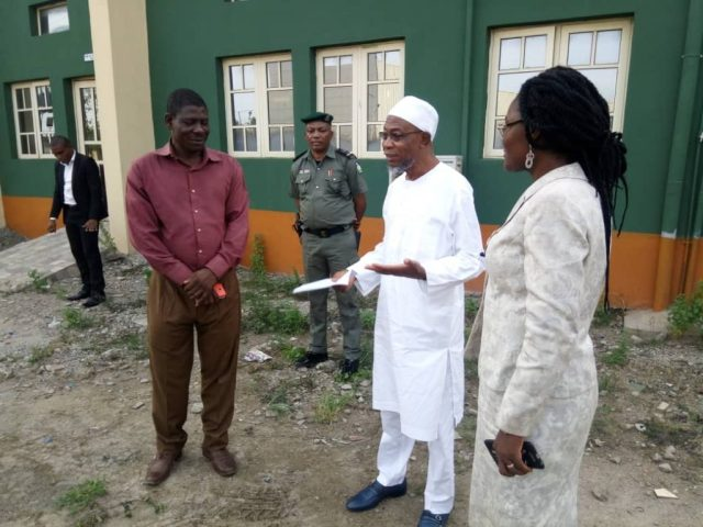 Aregbesola pays Surprise Visit to NSE Ikeja; Charges Engineers to help tackle Poverty