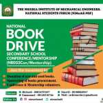 We need your help to equip the next generation; Donate your old books!