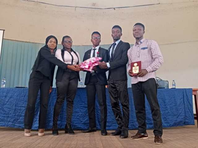 NIMechE Poly Ibadan president, Mufutau Olalekan emerges second in the Interfaculty Speech Competition