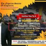 Workshop: Automotive Industry in Nigeria:Yesterday, Today and Tomorrow
