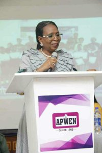 Change of baton at APWEN as Funmilola Ojelade is Sworn-in at a colourful ceremony