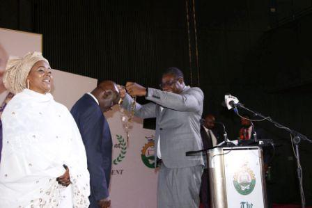 Babagana Mohammed Sworn in as 32nd President of NSE in a Colorful Ceremony