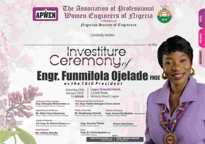 APWEN sets to unveil Funmilola Ojelade as 16th President