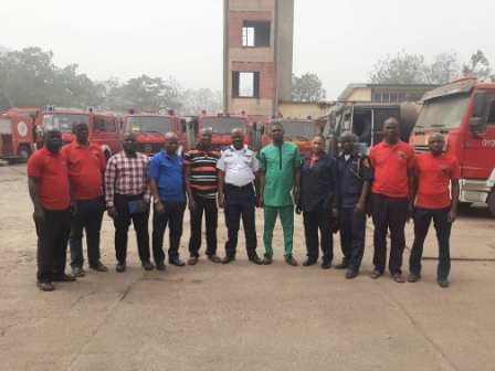 NSE Oluyole laments state of Fire fighting equipment  in Oyo, Calls for urgent Upgrade and Improved welfare for servicemen