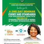 NSE Codes and Standard Committees Invites members to Public Session