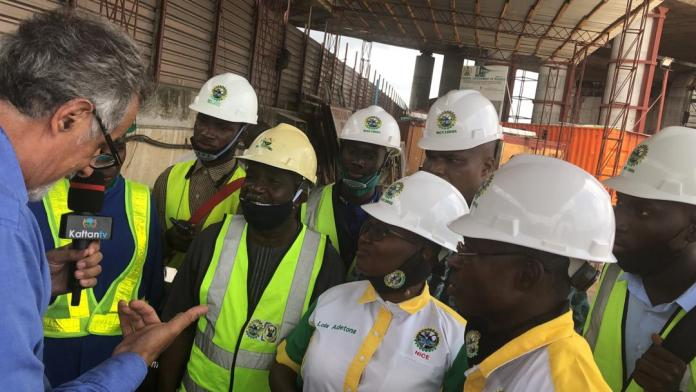 NICE pays technical visit to site of ongoing repair works on Third Mainland Bridge, expressed satisfaction at the work done so far