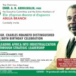 Abuja sets to mark Engr Charles Mbanefo 80th birthday in style