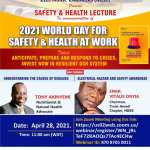 World Day for Safety and Health at Work: NIEEE invites to a Webinar