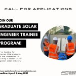 Call for Applications:  Energy Talent Graduate Solar Engineer Trainee