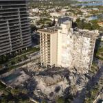 Four dead in Florida building collapse, 159 unaccounted for