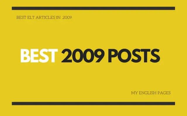 best 2009 ELT articles