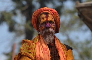 A man from Nepal