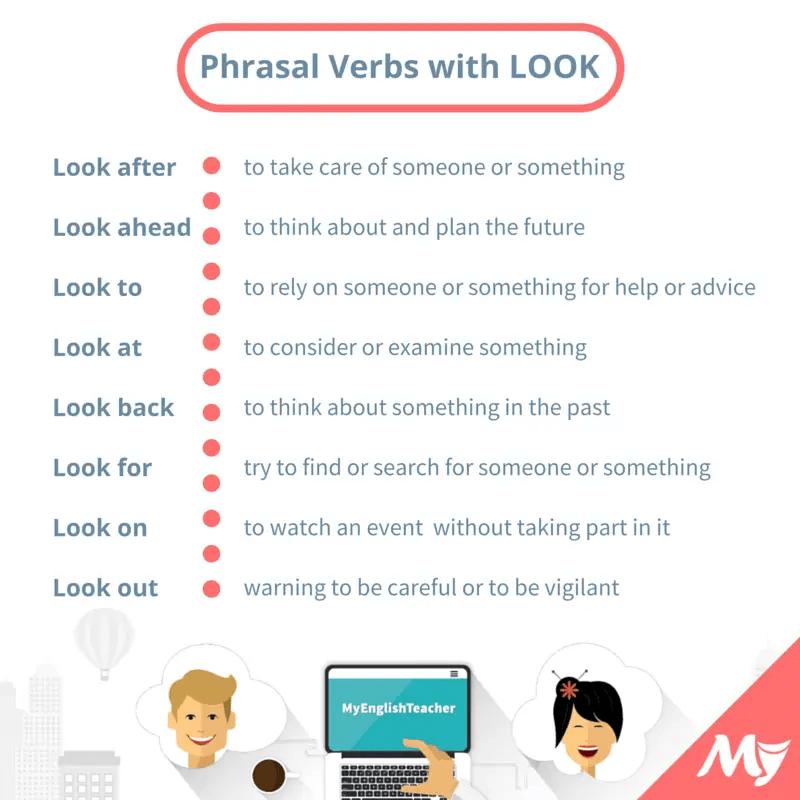 24 simple phrasal verbs