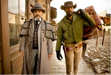 As Dr. King Shultz, we are finally given a character played by Christoph Waltz that we're not afraid to root for.