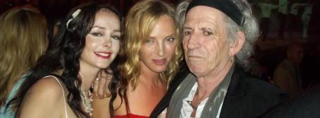 despina with keith richards