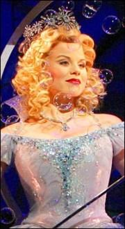 as Glinda in Wicked