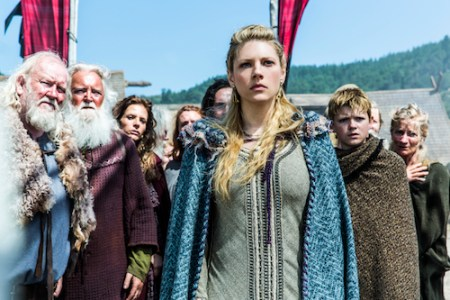 Vikings airs Thursdays at 10pm on HISTORY_ centre Katheryn Winnick as Lagertha (1)