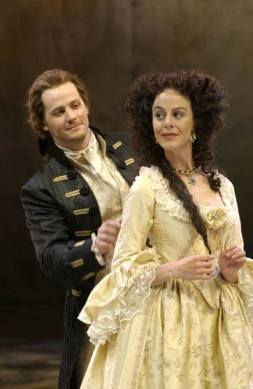 with Michelle Giroux in Love's Labour's Lost, 2003