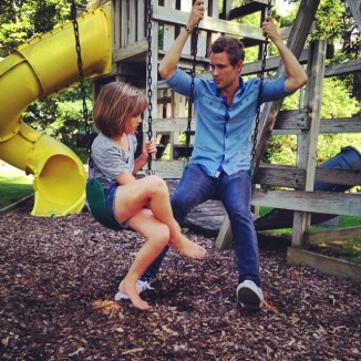 Bachelorette: Nick with his little sister Bella during hometowns